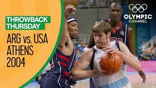 Argentina v USA - Semi Final | Athens 2004 - Condensed Game | Throwback Thursday