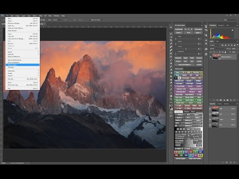 How To Access Large Document PSB Files In Lightroom and Bridge