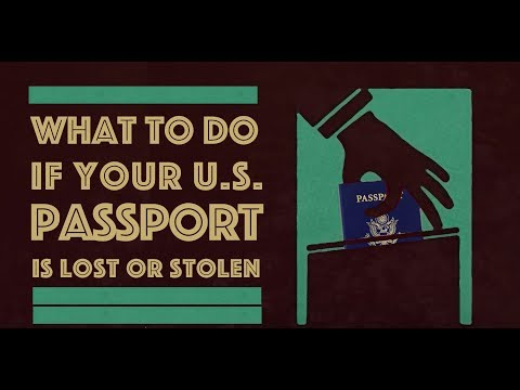 How to replace a lost or stolen passport (U.S.)