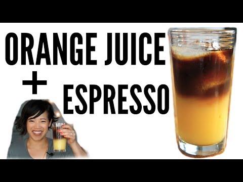 ORANGE JUICE + ESPRESSO Taste Test   Sunrise, Good Morning, Vietnam, OJ Express