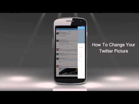 How to Change Your Twitter Picture on an Android Device