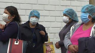 Perú supera los 100.000 casos de covid-19 con hospitales cerca del colapso | AFP