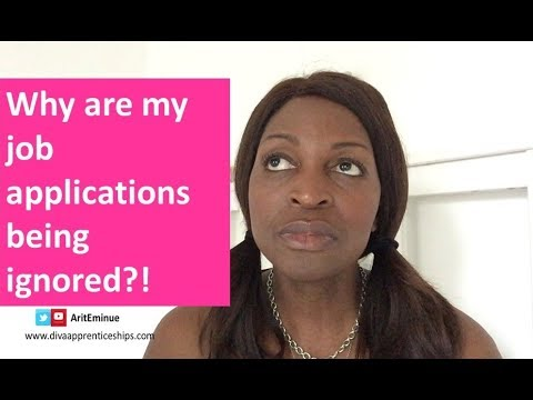 Why your job applications are being ignored