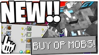 *UPDATE* NEW OP FANTASY MOBS MONSTER ISLAND!? (NEW MODS) w/BAJANCANADIAN - Minecraft Modded Minigame