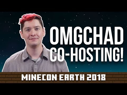 HUGE NEWS! I Will Be Co-Hosting Minecon Earth: the Minecraft Convention