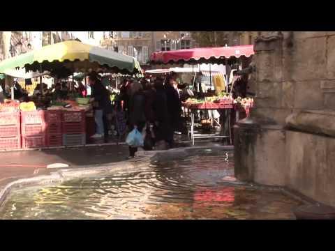 Aix en Provence food markets