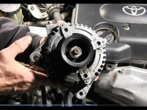 How to Replace 2006 Scion tc Alternator