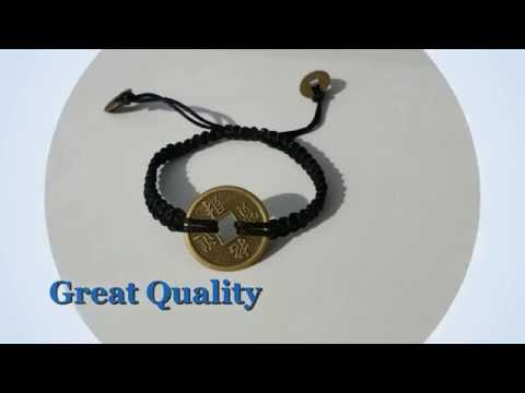 Chinese Coin Good Luck Bracelet