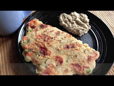 Instant Oats Uttapam/ Pancake