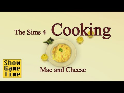 [The Sims 4] Cooking scene - Mac and Cheese