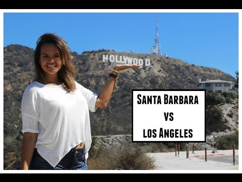 Santa Barbara vs Los Angeles? | Vlog 34