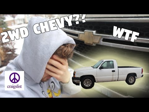 I BOUGHT A 2WD CHEVY PICKUP TRUCK... OFF CRAIGSLIST