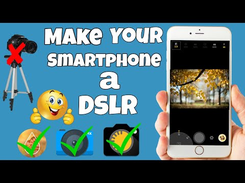 Make Your smartphone a DSLR || Take photos with blurred Baground EasilY || Top 3 best camera app...