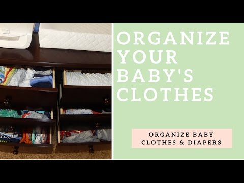 Organize Your Baby's Clothes