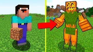 НУБ ПРОТИВ ТЫКВА МУТАНТ В МАЙНКРАФТ ! НУБИК И ТРОЛЛИНГ ЛОВУШКА В Minecraft МУЛЬТИК