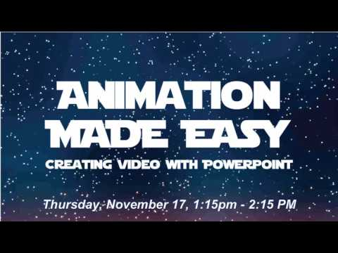 DevLearn Trailer: Animation Made Easy