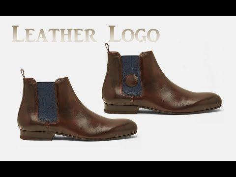 Create Shoes Leather Logo in Adobe Photoshop cc tutorial by, Amjad Graphics Designer