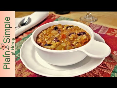 How to Make Winter Minestrone Soup   Easy to Follow Recipe