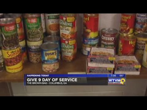 Give 9 Day of Service - Brown Bag (pt. 2)
