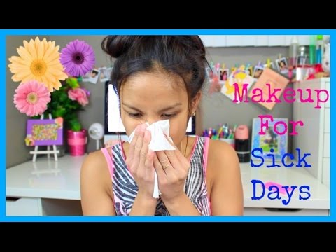 Makeup For Sick Days | Spring Allergies