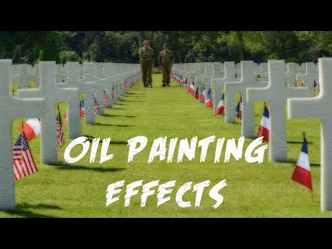 Photoshop Elements 14 Oil Painting Effects
