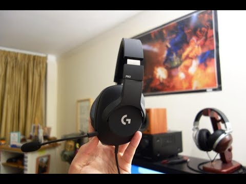 Logitech G Pro gaming headset review - The best PC headset under £100? - By TotallydubbedHD