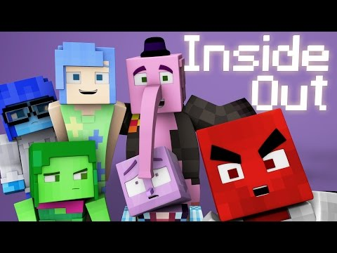 Minecraft Parody - INSIDE OUT! - (Minecraft Animation)