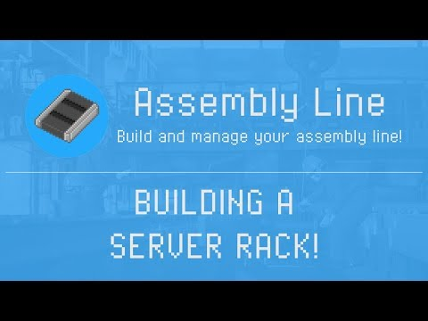 Assembly Line - Building a Server Rack to Super Computer - Gameplay
