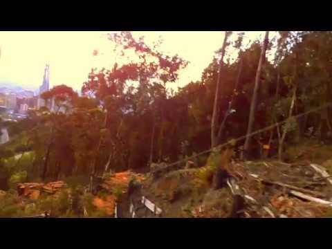 Bogota Columbia Funicular Train Monserrate Mountain