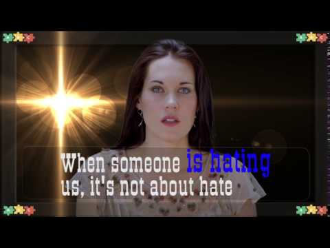 When someone IS HATING us