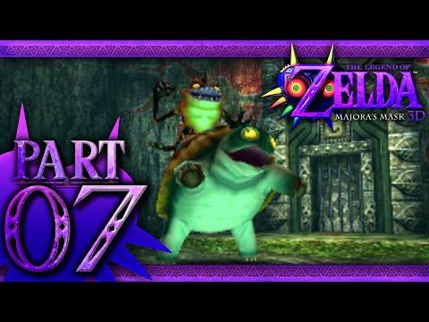 The Legend of Zelda: Majora's Mask 3D - Part 7 - Woodfall Temple