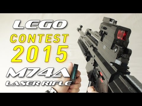 Contest 2015: LEGO M74A Laser Rifle