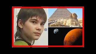 'boy from mars' claims great sphinx holds secret to earth's mysteries