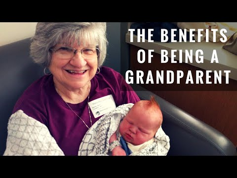 The Benefits of Being a Grandparent