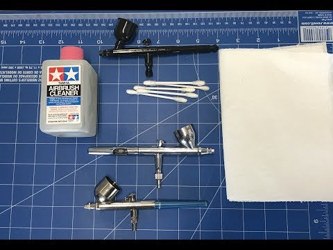 How to disassemble and clean your airbrush  easy step by step