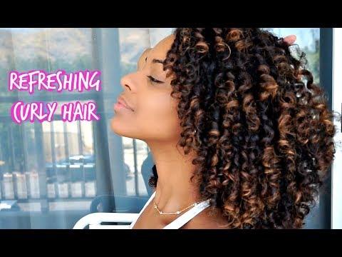 ChellisCurls | Refreshing Day 2/3 Hair