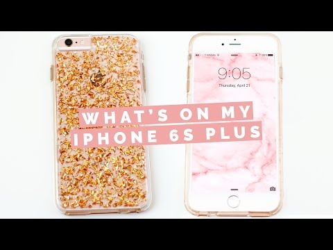 WHAT'S ON MY IPHONE 6S PLUS? | Asia Jackson