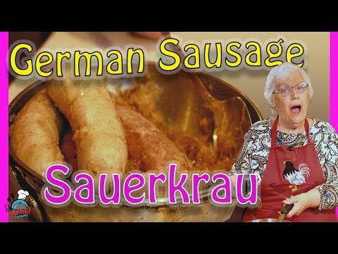 Home Made German Sausage & Sauerkraut    Dinner Ideas!