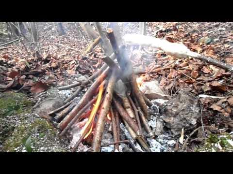 Bushcraft Bread easy way to bake  (Bannock)