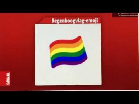 Rainbow Flag Emoji Approval in EditieNL