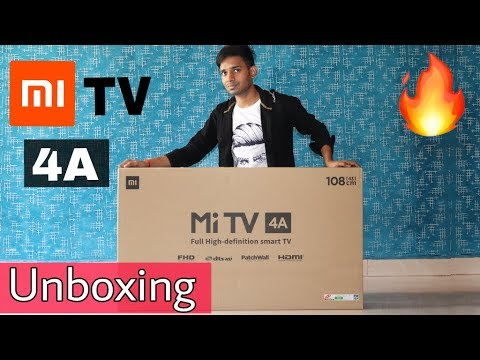 Mi TV 4A is Really Good ? 43 inch full Unboxing And Quick Overview