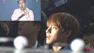 160114 BTS reaction to VIXX - Chained Up