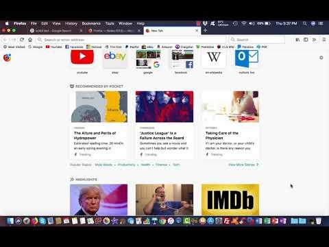 Mozilla Firefox Quantum 57 Overview
