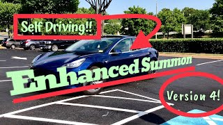 Download Tesla Enhanced Summon | Latest Update is Awesome!! | V.4 Video