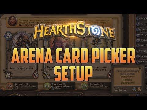 Hearthstone Arena Companion Setup - Hearth Arena Card Picker