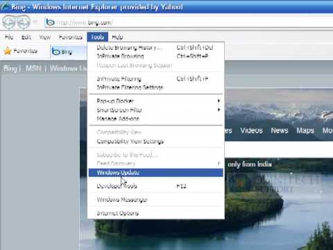 How to remove microsoft www.bing.com from internet explorer(IE) home page???