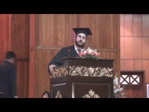 Best Graduation Speech Ever By a COMSATS (CIIT) Islamabad student