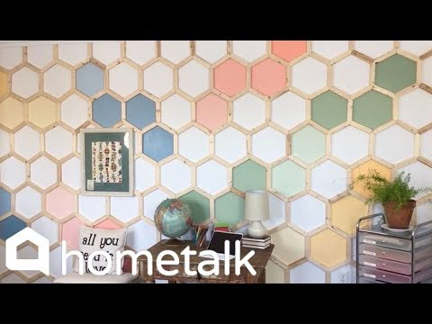 How to DIY a Unique Accent Wall in Your Home
