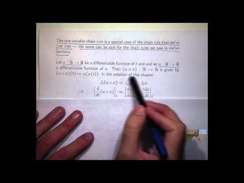 Jacobian chain rule and inverse function theorem