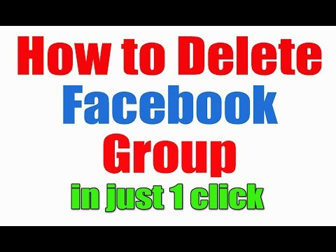 How to Delete Facebook Group in just one click 2017 | Hindi/urdu